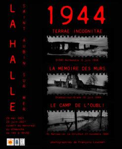 affiche 1944 saint-aubin-sur-mer © francois louchet