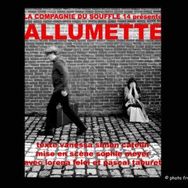affiche allumette © françois louchet