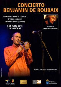 concert benjamin de roubaix © francois louchet