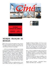 musique françois de roubaix ciné score