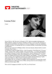 lorena felei © francois louchet