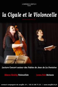 la cigale et le violoncelle © francois louchet