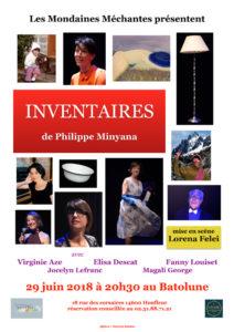 inventaires © francois louchet