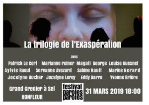 la trilogie de l'exaspération © francois louchet