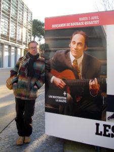affiche concert benjamin de roubaix © francois louchet