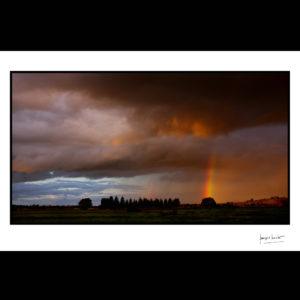 normandie arc en ciel droitier troarn © francois louchet