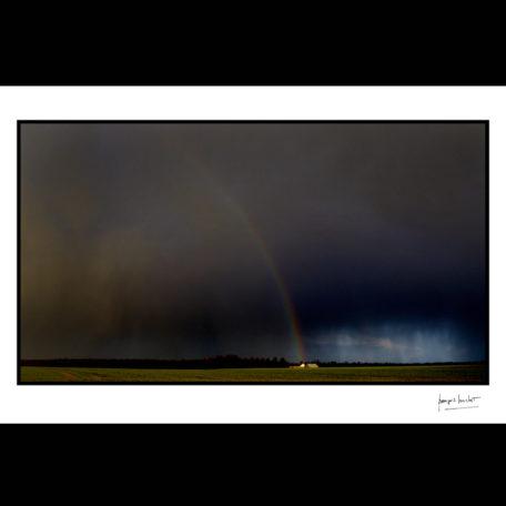 normandie arc en ciel pluvieux le thuit-signol © francois louchet