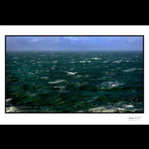 normandie mer moutonneuse les pieux © francois louchet