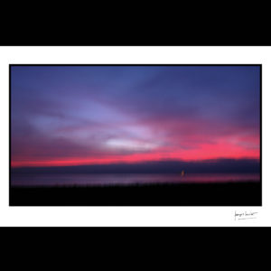 normandie soirée rose saint adresse © francois louchet