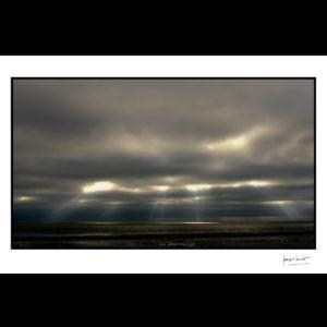 normandie puits de lumière baie du mont saint-michel © francois louchet