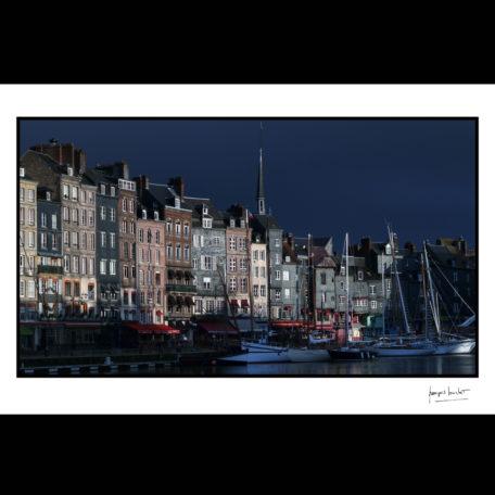 normandie/matin sur le vieux bassin/ honfleur © francois louchet